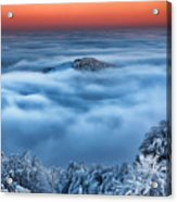 Bed Of Clouds Acrylic Print