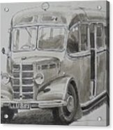 Bedford Ob Coach Of The Forties. Acrylic Print