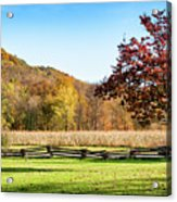 Bedford, Pa Fall Landscape Acrylic Print