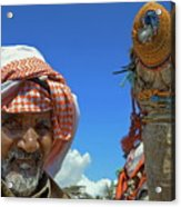 Bedouin Acrylic Print by George Paris