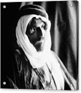 Bedouin Man, C1910 Acrylic Print