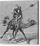 Bedouin Messenger Acrylic Print