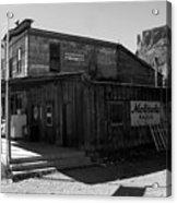 Bedrock Store 1881 Acrylic Print