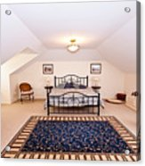Bedroom With Sloping Ceiling Acrylic Print