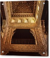 Beds Room The Alhambra Acrylic Print