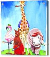Bedtime Animals Acrylic Print