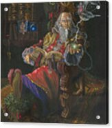 Bedtime Stories Acrylic Print by Jeff Brimley