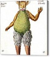 Beelzebub, Or The Devil, 1775 Acrylic Print