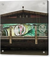 Beer Barge - Iquitos, Peru Acrylic Print