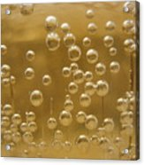 Beer Bubbles-1 Acrylic Print