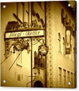Beer Cellar In Salzburg Acrylic Print
