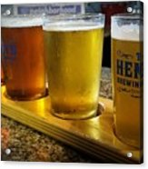 Beer Flight Acrylic Print