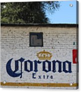 Beer In Mexico Acrylic Print