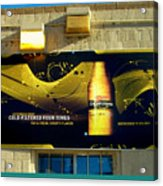 Beer Is Golden-america The Addicted Series Acrylic Print