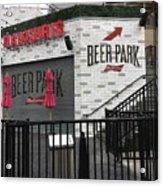 Beer Park Acrylic Print