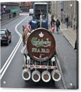 Beer Wagon Acrylic Print