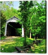 Beeson Covered Bridge Acrylic Print