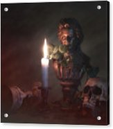 Beethoven By Candlelight Acrylic Print