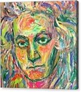 Beethoven Energy  Acrylic Print
