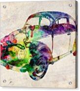 Beetle Urban Art Acrylic Print