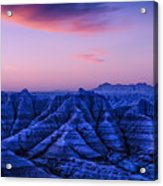 Before Sunrise, Badlands National Park Acrylic Print