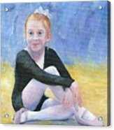 Beginning Ballet Acrylic Print