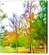 Beginning Of Autumn Acrylic Print