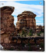 Beginning Of The Slick Rock Trail Acrylic Print
