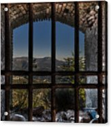 Behind Bars - Dietro Le Sbarre Acrylic Print