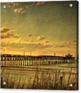 Behind Cherry Grove Pier  Acrylic Print