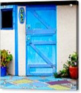 Behind Door Number One Acrylic Print