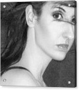Behind Her Eyes Secrets Sleep... Acrylic Print