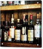 Behind The Bar Acrylic Print by Cathie Tyler