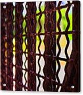 Behind The Bars Acrylic Print