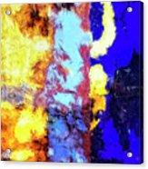 Behind The Curtain 2 Acrylic Print