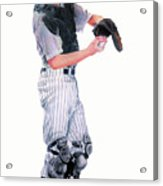 Behind The Plate Acrylic Print
