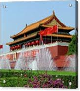 Beijing City 30 Acrylic Print