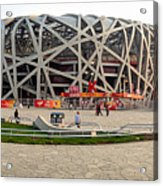 Beijing National Olympic Stadium Acrylic Print