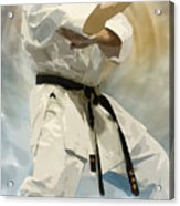 Being A Black Belt Acrylic Print