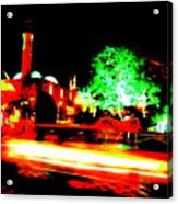 Beirut By Night Acrylic Print