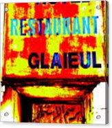 Beirut Funky Hotel  Acrylic Print