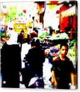 Beirut Market Funk Acrylic Print