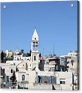 Beit Jala Christian Town Acrylic Print