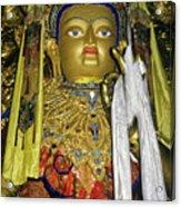 Bejeweled Buddha Acrylic Print