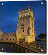 Belem Tower, Lisbon, Portugal Acrylic Print