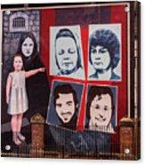 Belfast Mural - Ireland Acrylic Print