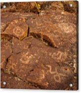 Belfast Petroglyph 6 Acrylic Print