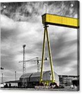 Belfast Shipyard 2 Acrylic Print
