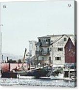 Belfast Tugs 2 Acrylic Print
