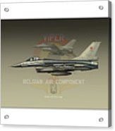 Belgian Viper Xxl Acrylic Print